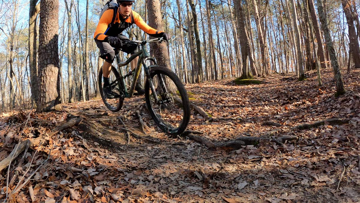 ibis ripley af alloy mountain bike review and riding action photos