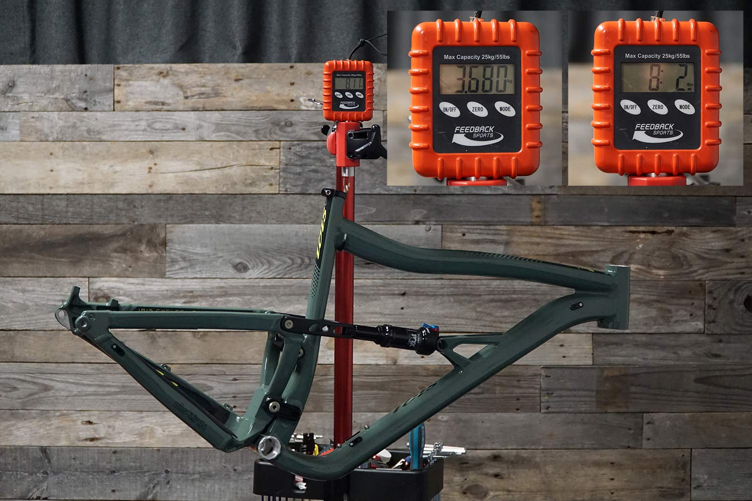 ibis ripley af alloy frame actual weight