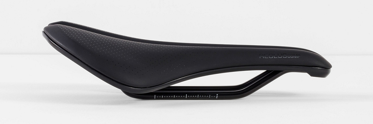 Bontrager Aeolus Comp saddle road cycling may be more comfortable indoor trainer less trim