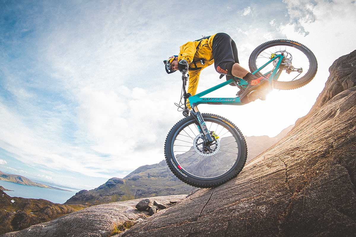 DANNY mackaskill the slabs continental kaiser downhill tires soft compound