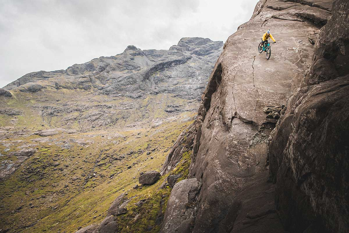 DANNY mackaskill the slabs cuilin mountain range skye cliff face