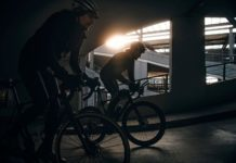 Everesting Berlin in a parkgin garage, Votec CyclingRapha RoadBikeParty, photo by Carlos Meyer