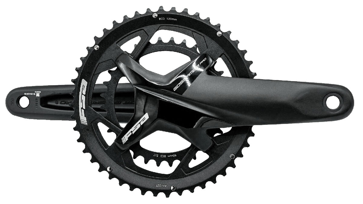 FSA Gossamer Pro alloy road cranks get super short & sub-compact, 2x road compact