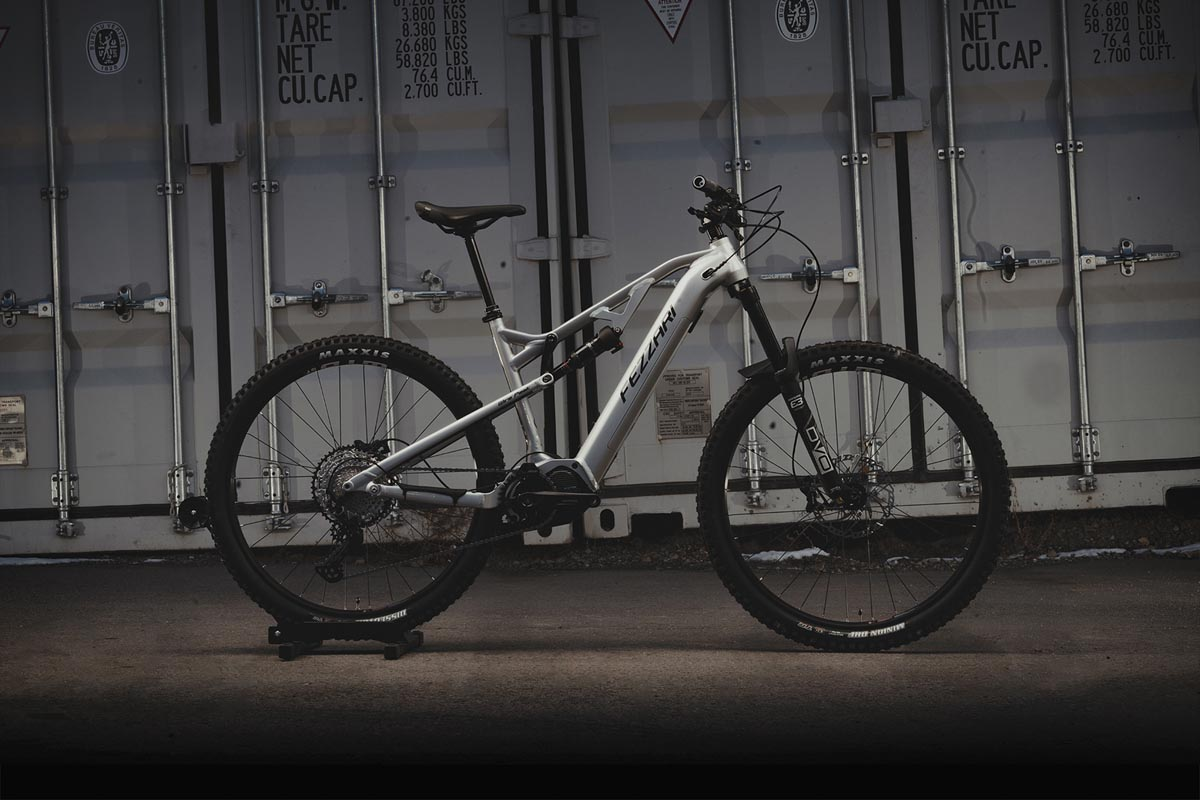 Fezzari Wire Peak eMTB with Shimano EP8 drive system
