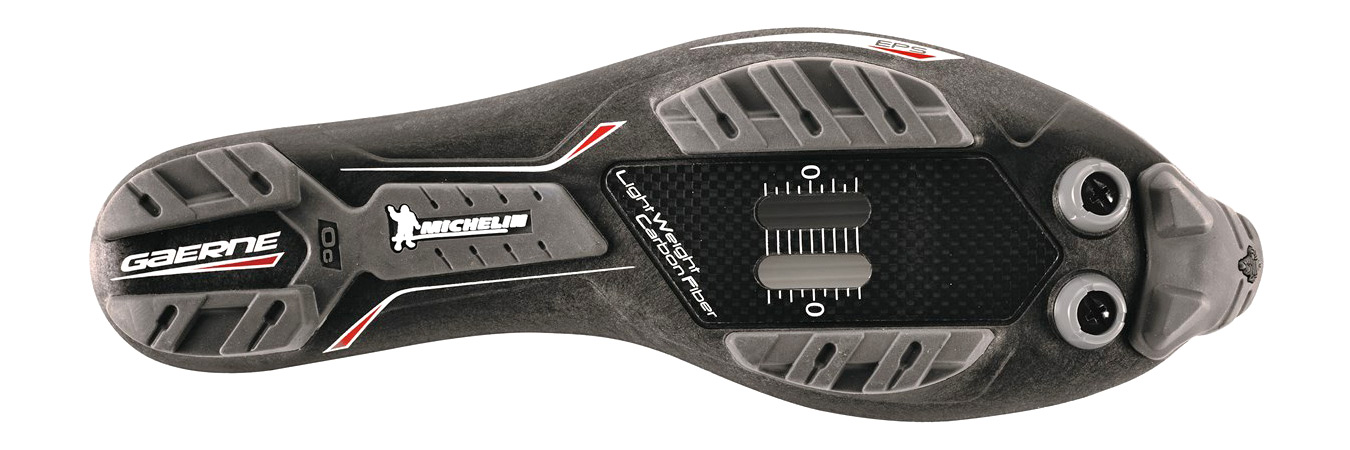 Gaerne G.SNX XC MTB shoes, top-tier race performance carbon cross-country mountain bike shoe, Michelin sole