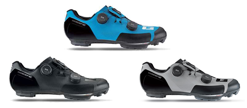 Gaerne G.SNX XC MTB shoes, top-tier race performance carbon cross-country mountain bike shoe, colors