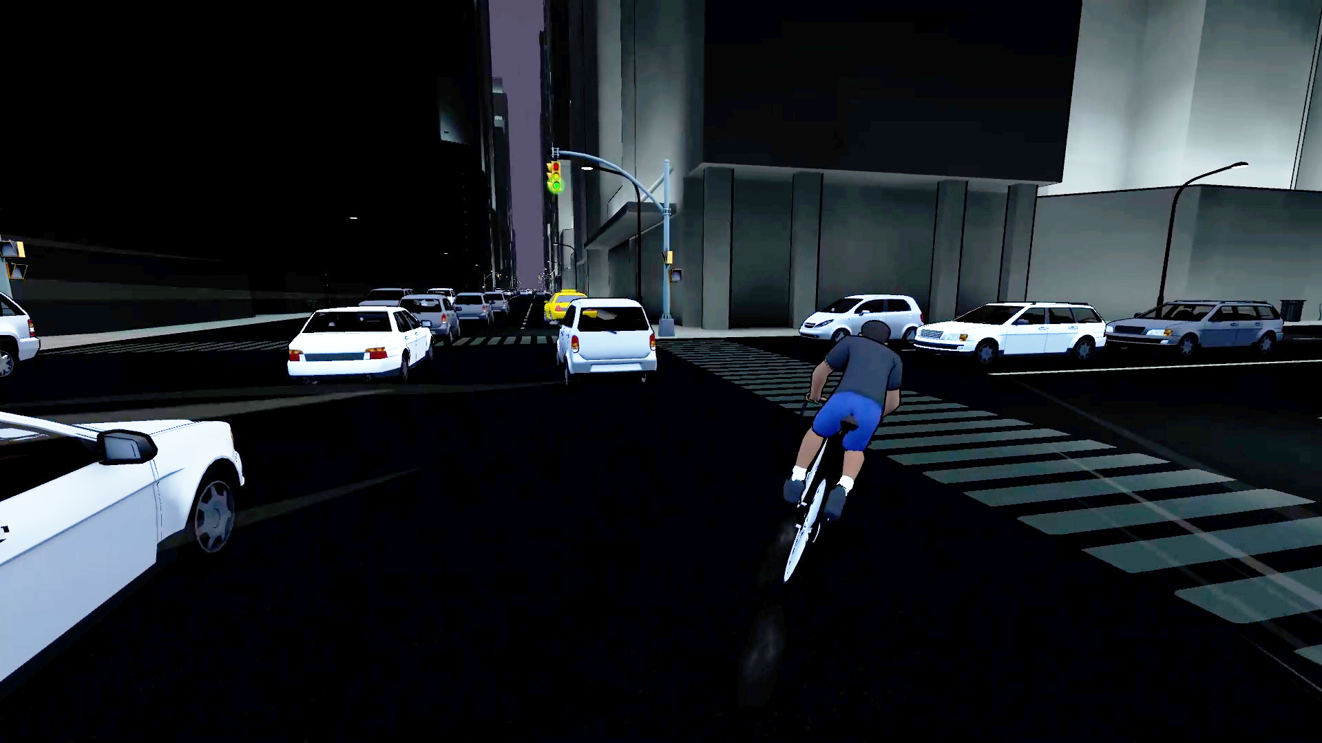 Hustle City cycling trainer video game beta testing