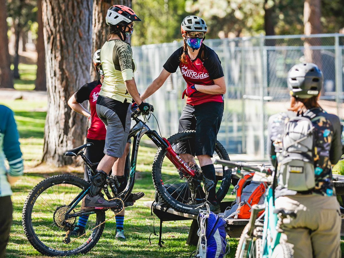 Ladies All Ride MTB camps in COVID-19 times