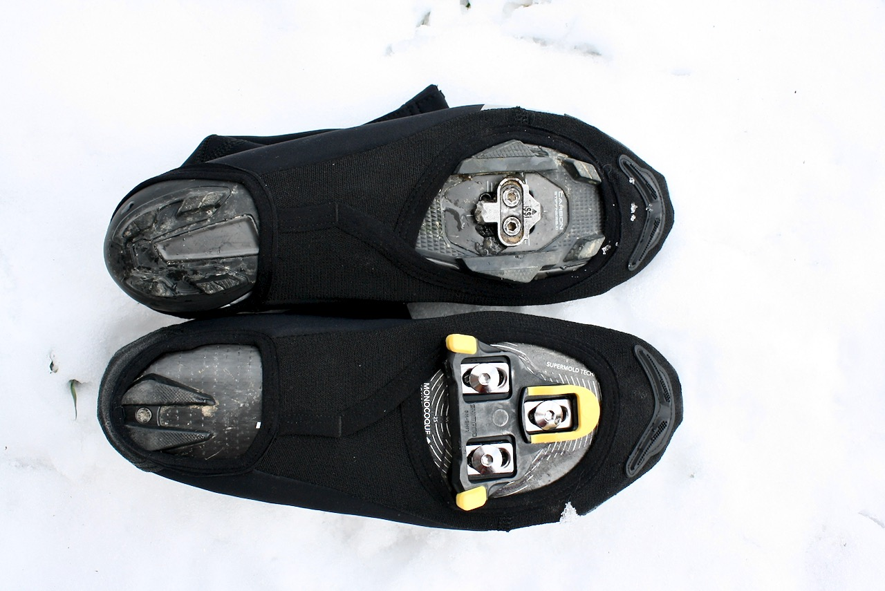 Specialized Element Shoe Covers Road and MTB cleat view