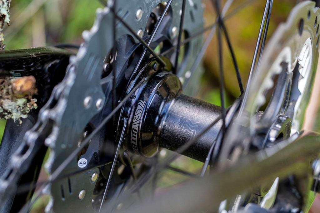 WTB Proterra Light Tough wheels, affordable tubeless alloy gravel trail mountain bike wheelsets, hub