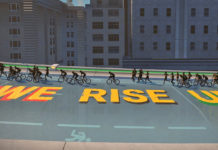 Zwift Black Celebration Series, We Rise Up cycling NYC