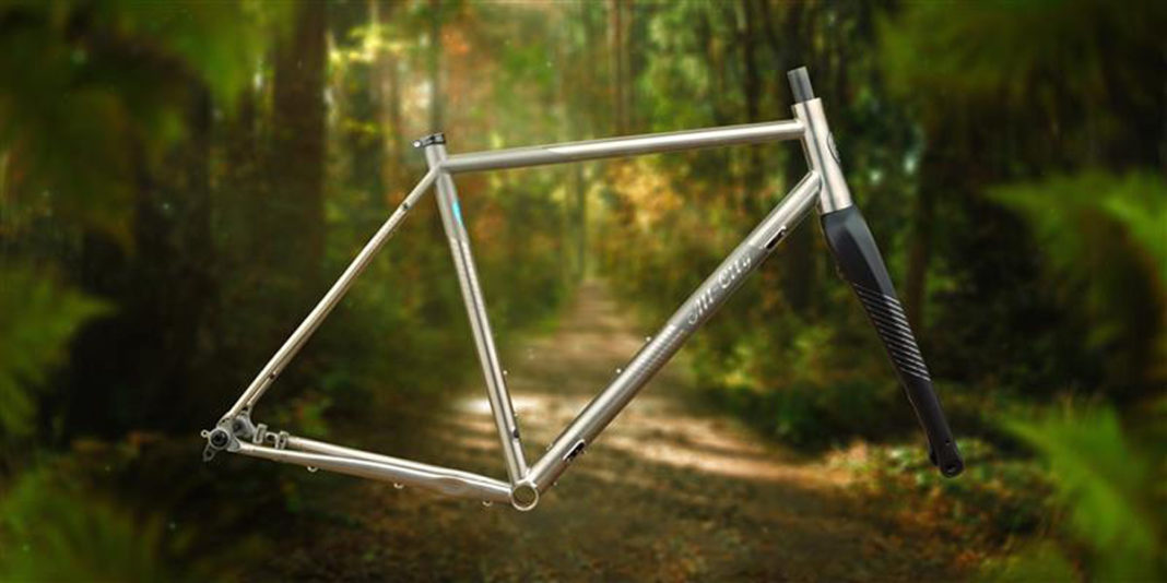 all-city cosmic stallion titanium gravel frameset