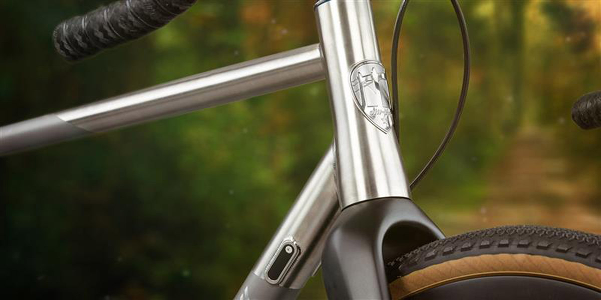 all-city cycles titanium head badge
