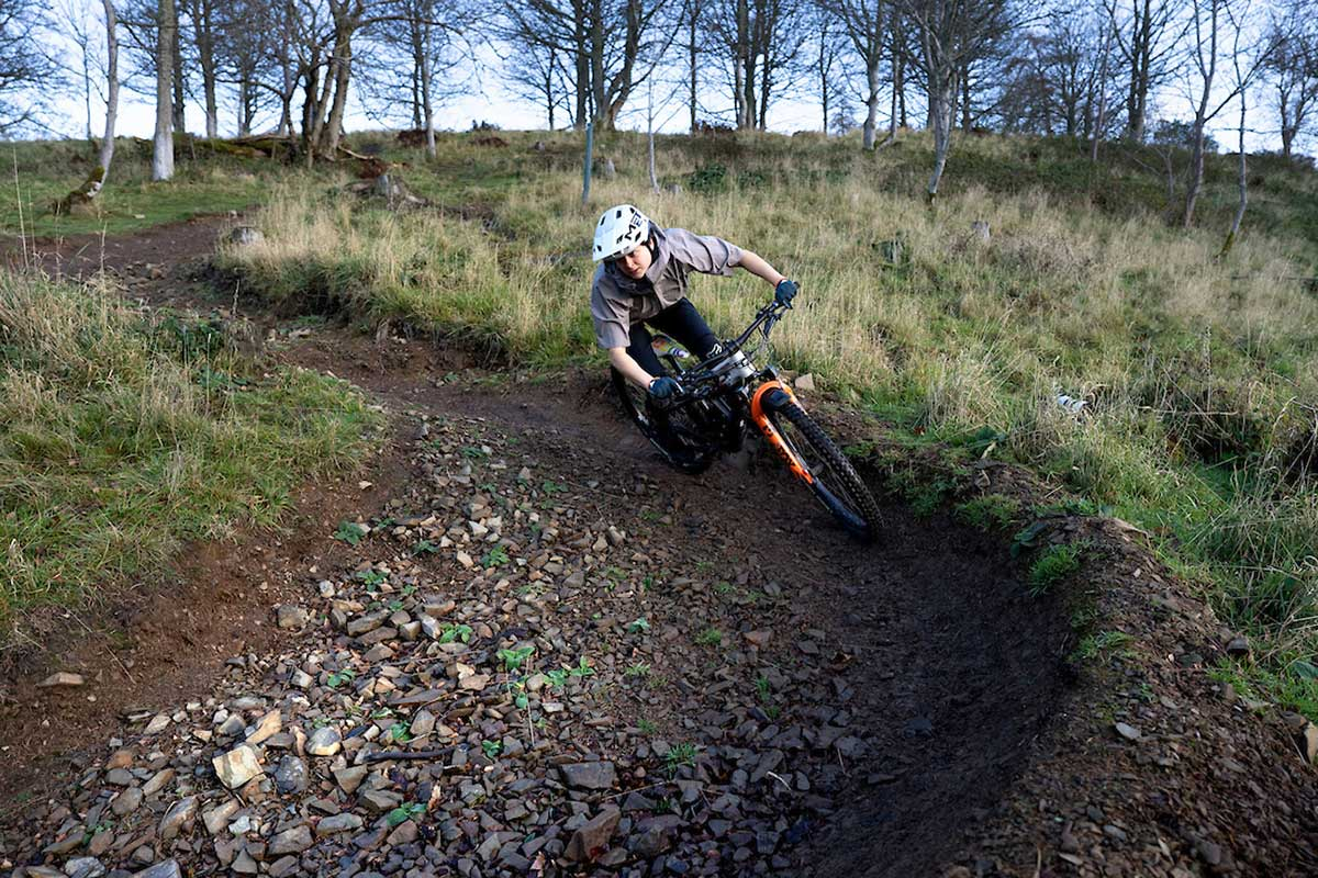 fox float factory 38 fork 160mm travel testing scotland