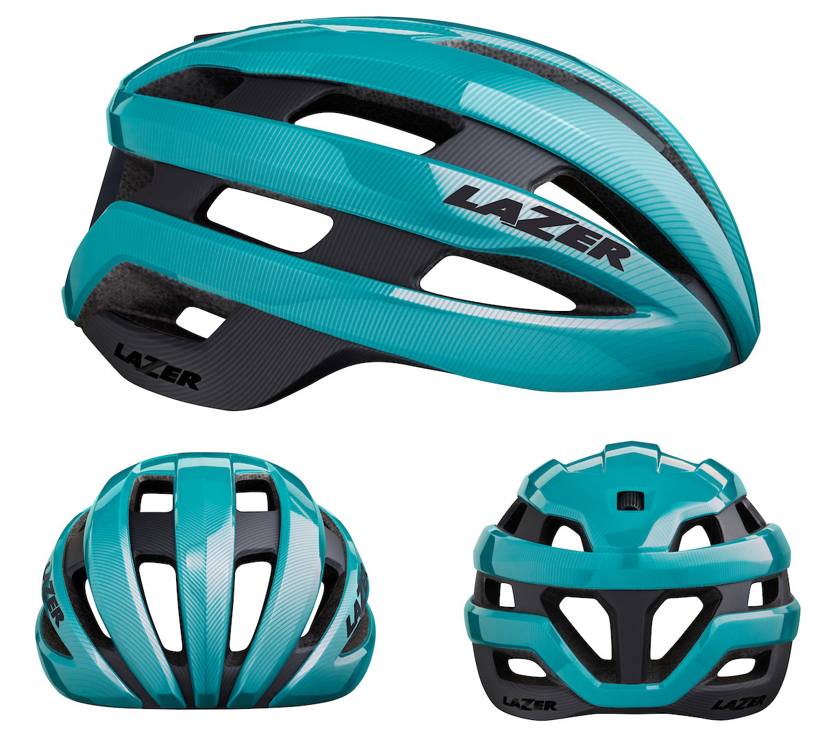 lazer sphere mips road bike helmet side front and back view