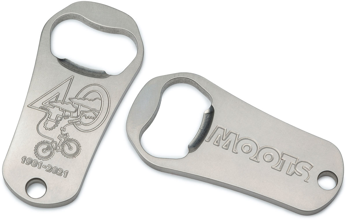 moots bottle opener limited edition 40th anniversary