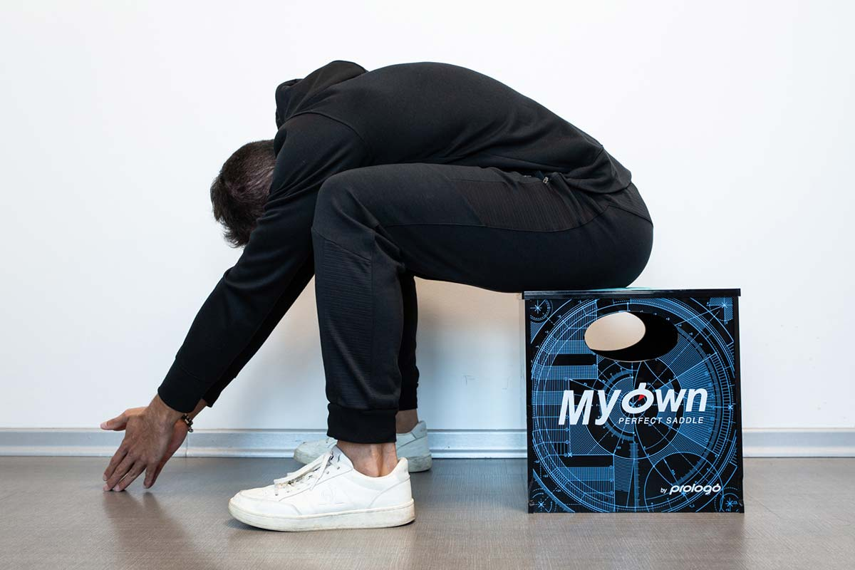 prologo myown fit system measures hip flaxibility do it at home to determine best saddle shape for you