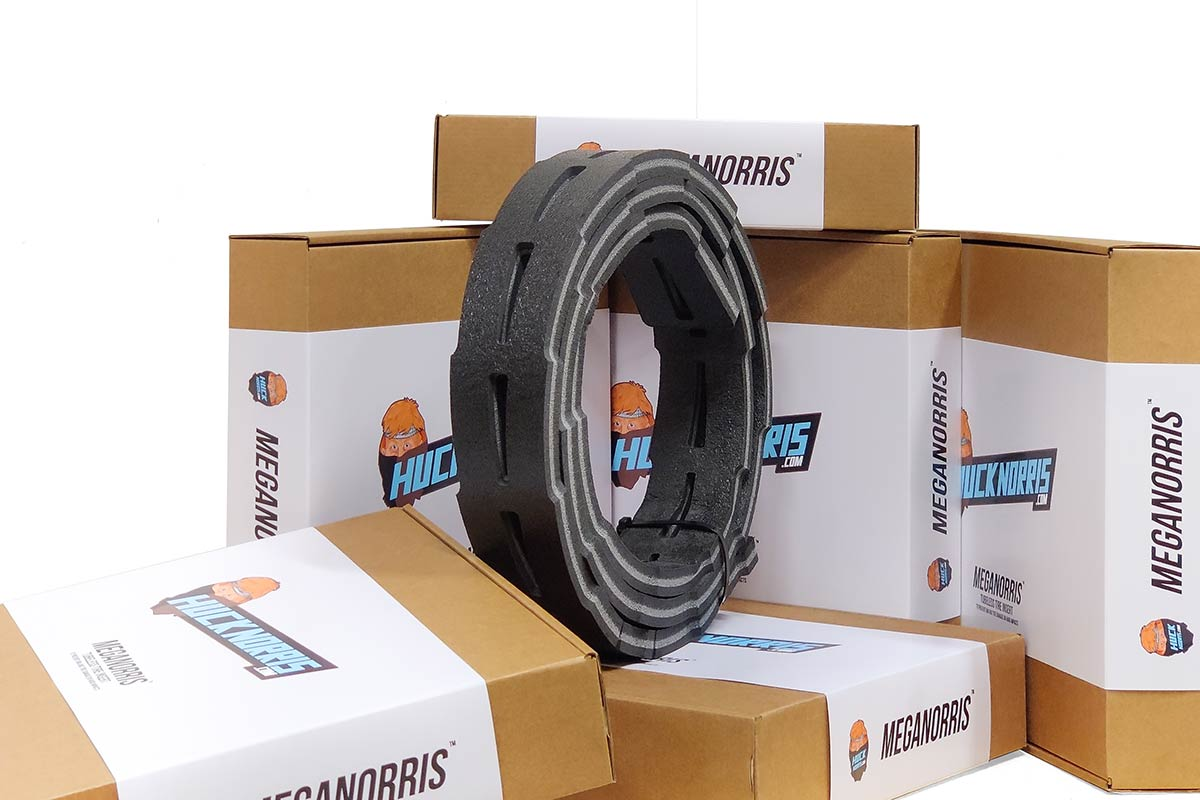 downhill tire insert meganorris hamburger has dual compound smoot ride pinch flat protection