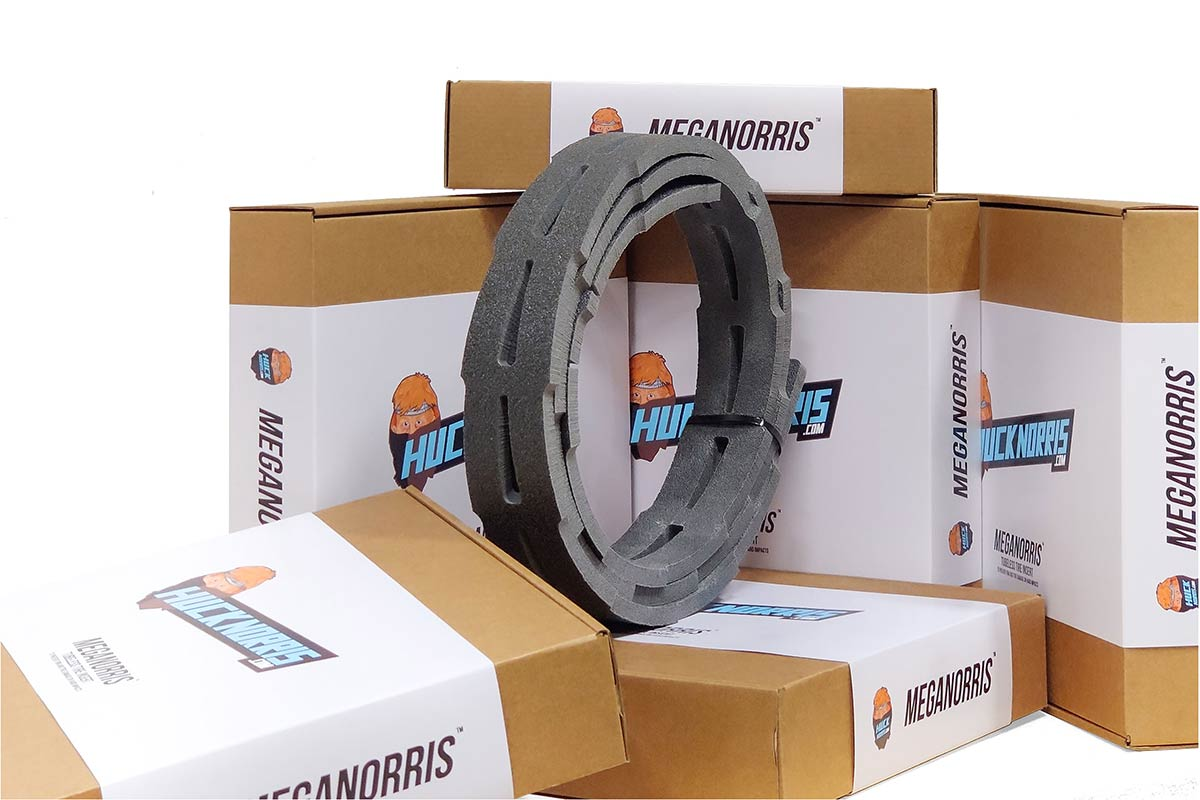 meganorris toast cross country mtb tire insert soft layer only