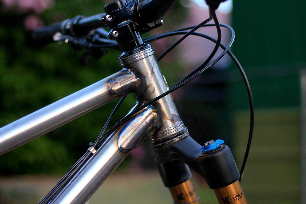 myth cycles zodiac frame gussets add reinforcement at head tube joins