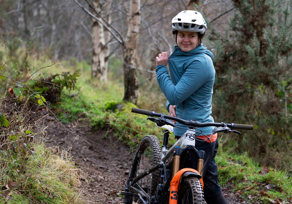 specialized trail-series wind jacket review women's blue
