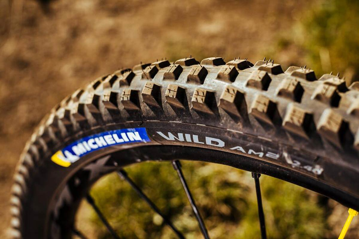 2021 michelin wild am2 all mountain mtb tire high grip slower rolling