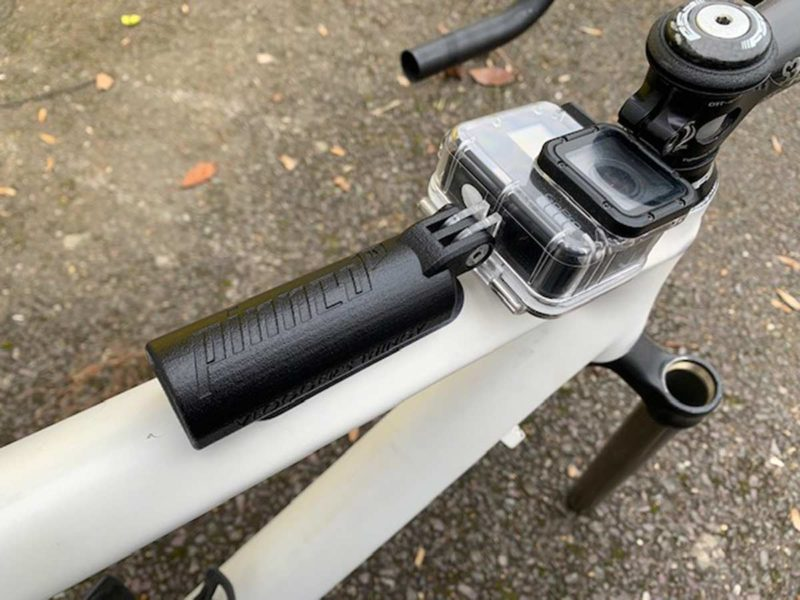 76Projects Vloggers thingy prototype toptube mounted gopro holder
