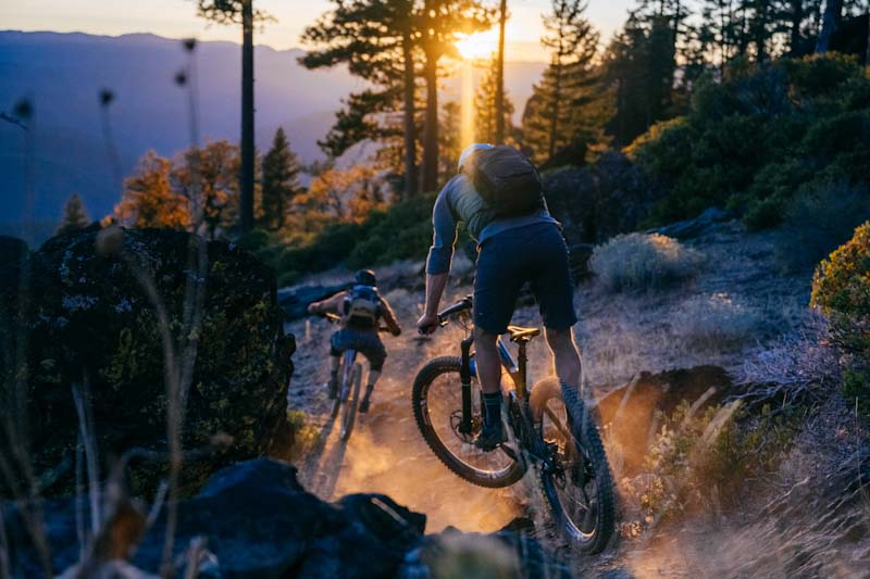 Connected Communities project, MTB riders