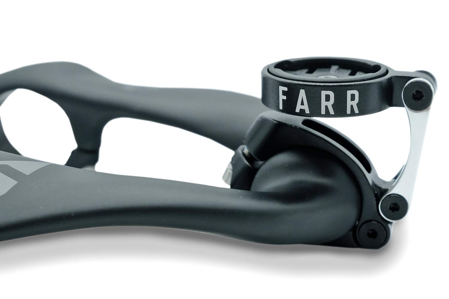 Farr out-front GPS Mount for Carbon Aero Bolt-On aero bar