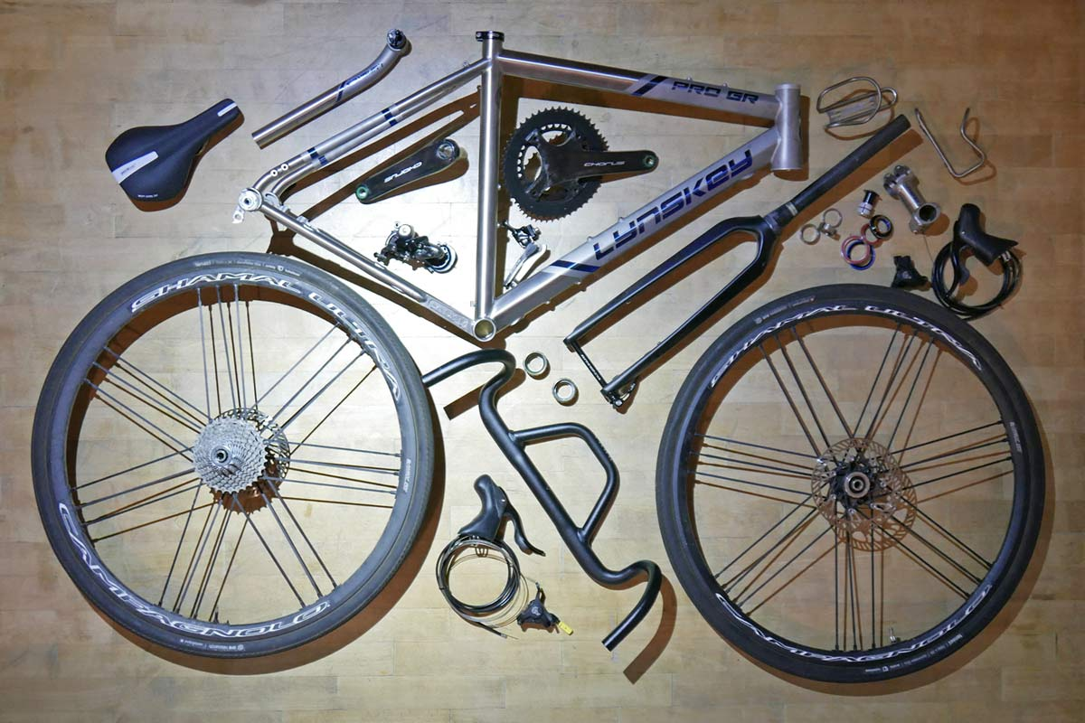 Campagnolo Chorus 2x12 all road bike groupset review, Lynskey Pro GR kit grid