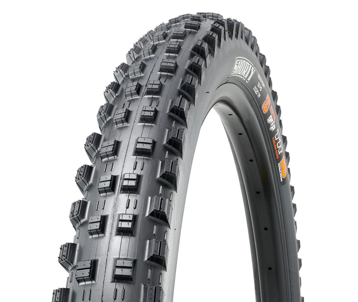 Maxxis Shorty Gen 2 MTB mid-spike mud tire tread