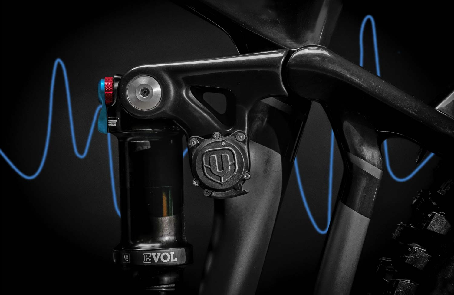 Mondraker MIND integrated telemetry tracking system suspension setup and analysis