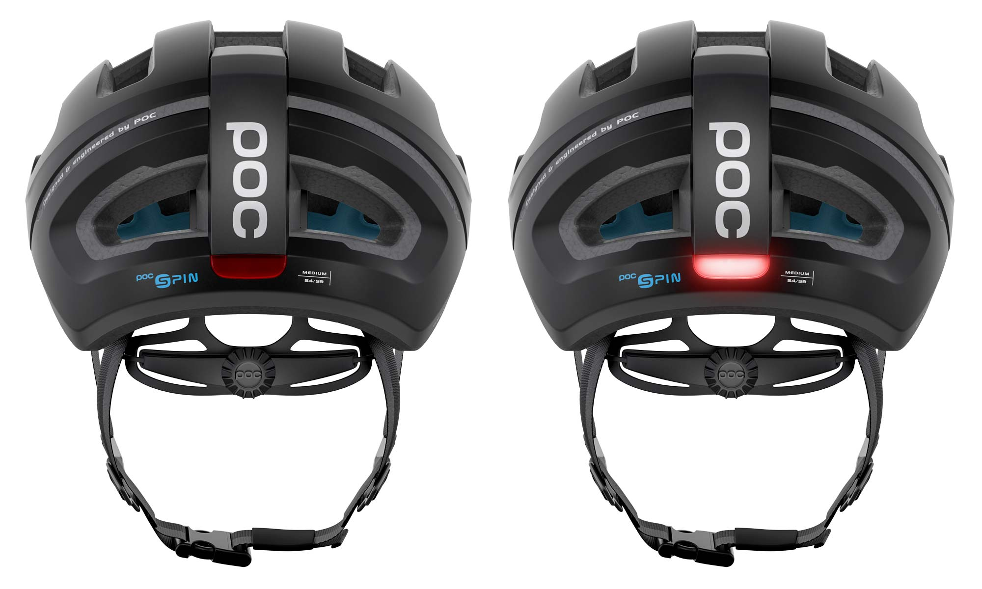 POC Omne Eternal solar-powered helmet with integrated lighting, automatic off & on