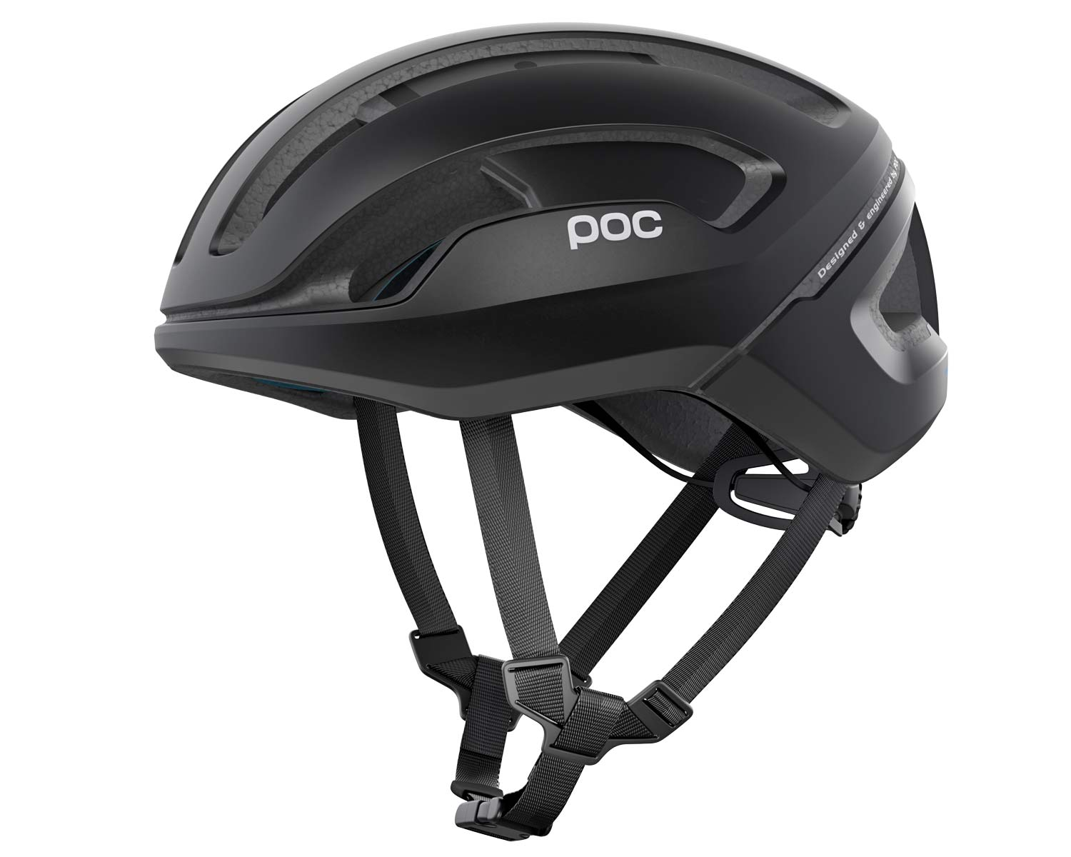 POC Omne Eternal solar-powered helmet with integrated lighting, side