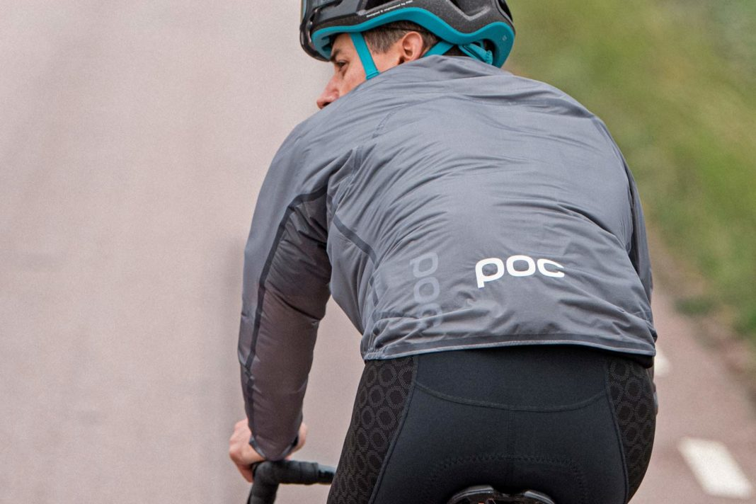 POC Supreme Rain Jacket ultralight 3-layer waterproof protection, riding