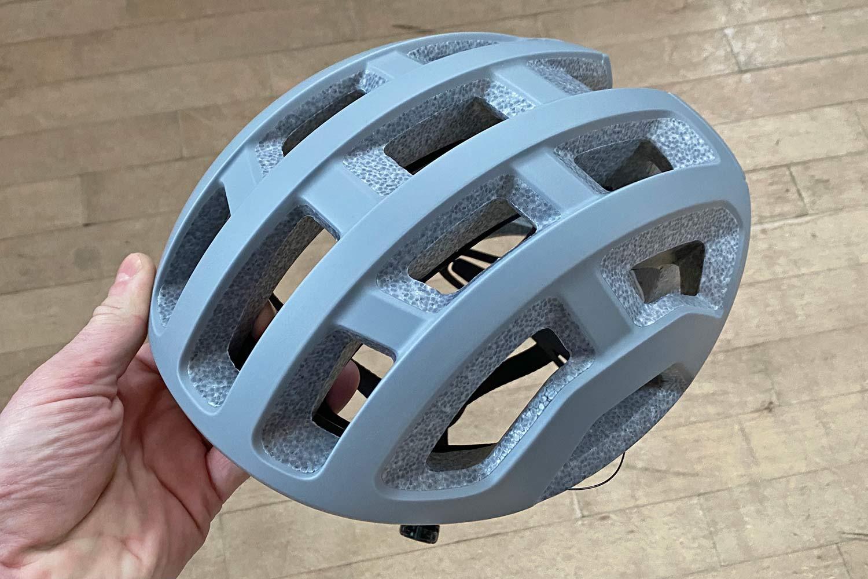 POC Ventral Lite ultralight helmet, fully vented lightweight 182g road bike helmet,angled