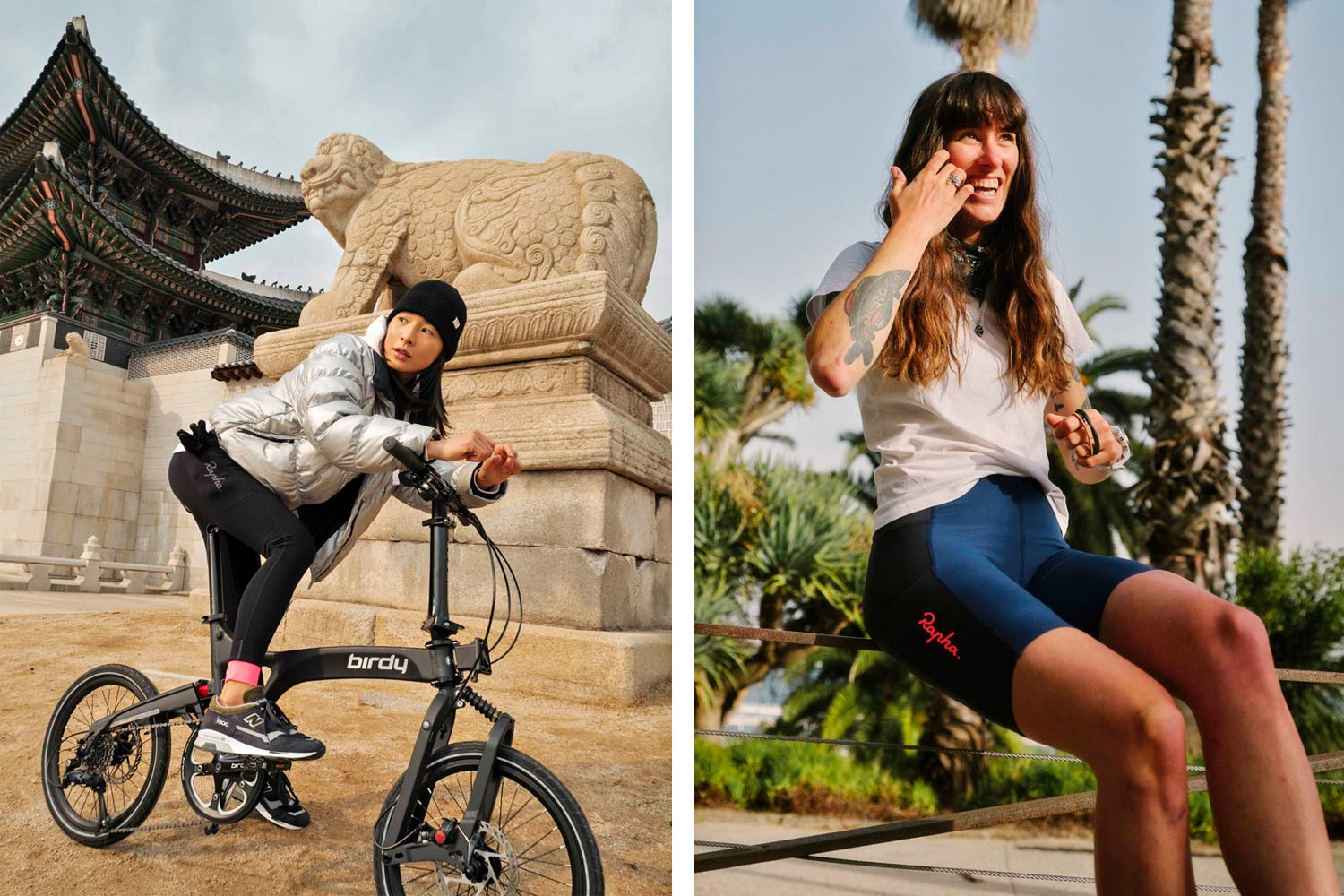 Rapha Womens All Day Leggings and Shorts, Riding in the City, City Ride Diaries