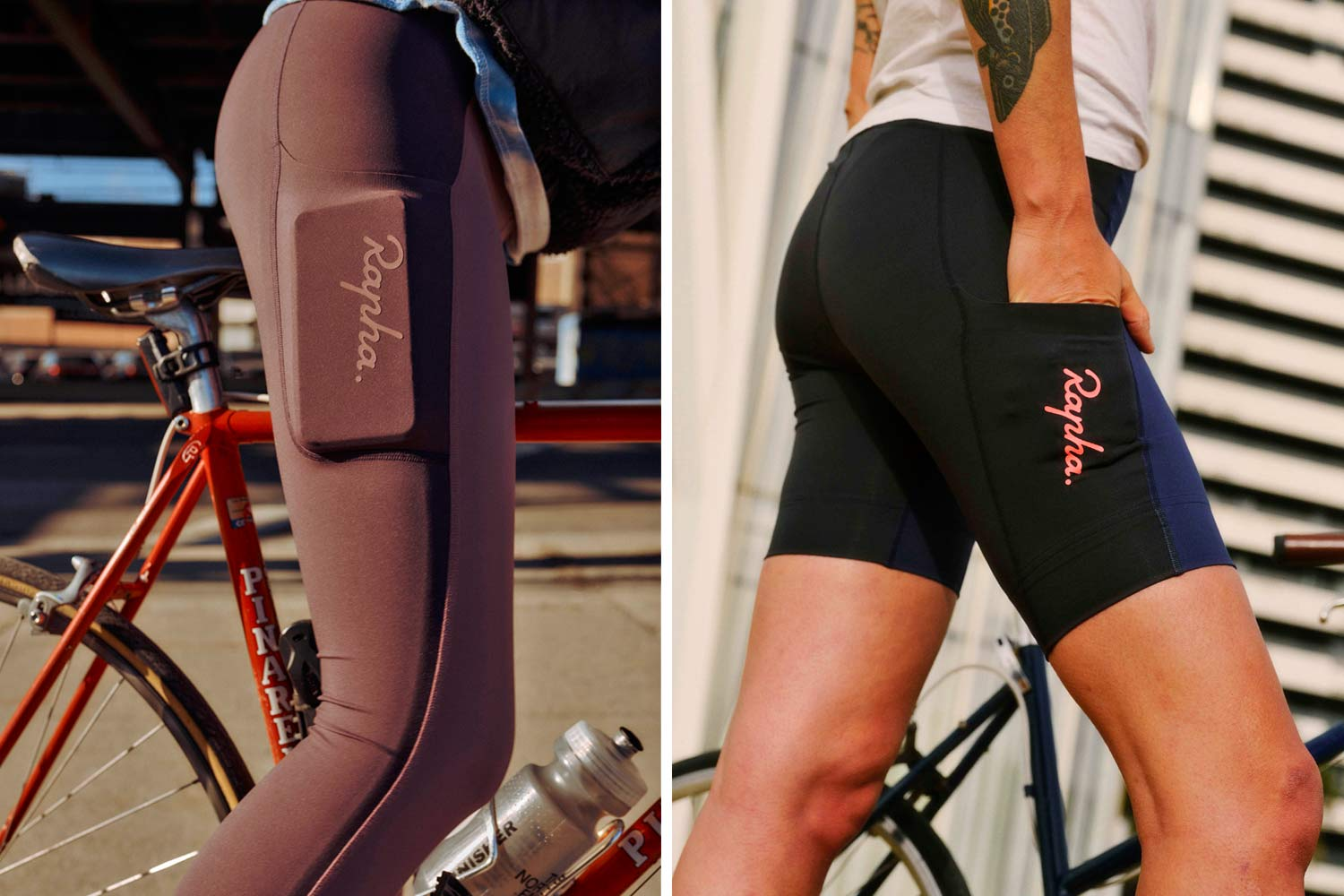 Rapha Women's All Day Leggings and Shorts,phone pocket