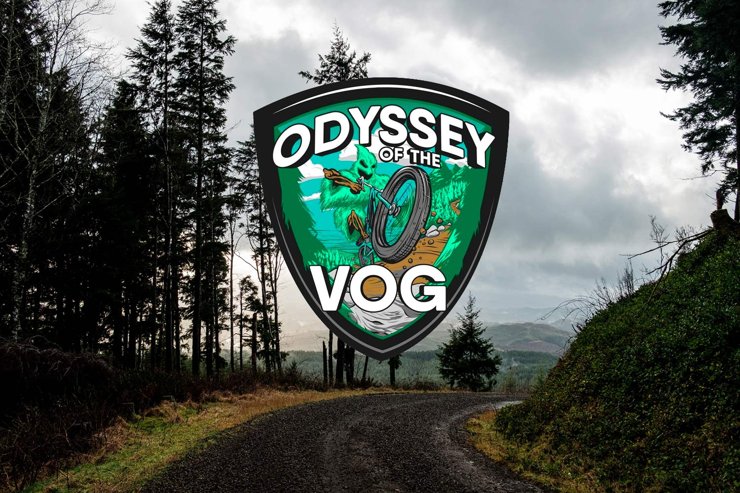 The Odyssey of the VOG gravel bikepacking race