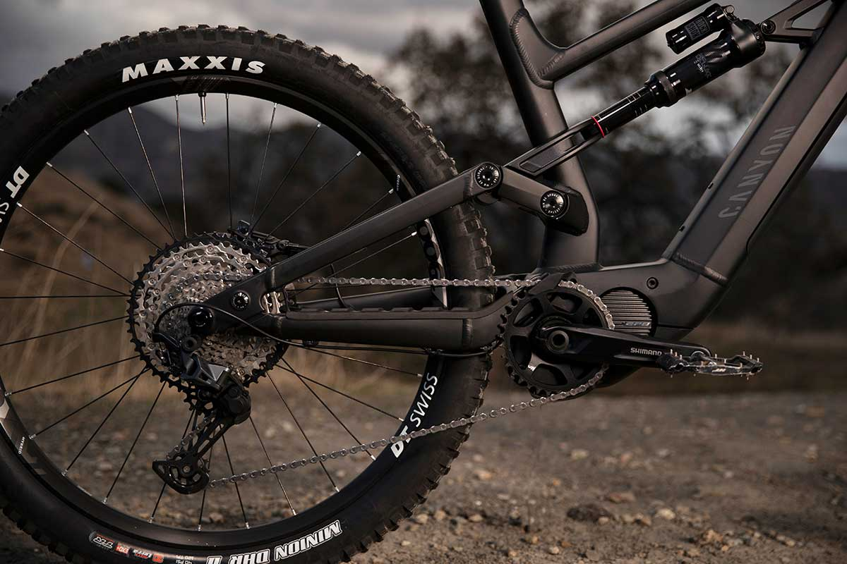 canyon torque:on emtb shimano ep8 motor 85Nm torque 504Wh battery