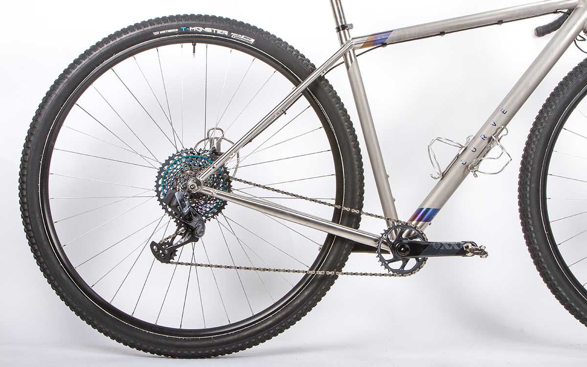 """36"""" wheel bike for very tall people curve cycling titanosaur gravel 36er"""