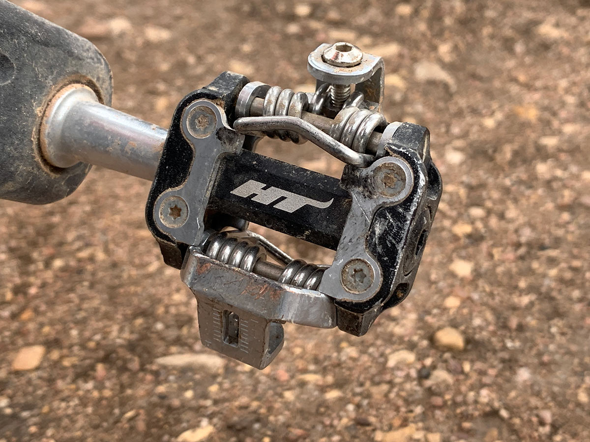 HT Components M1 mountain bike pedal review
