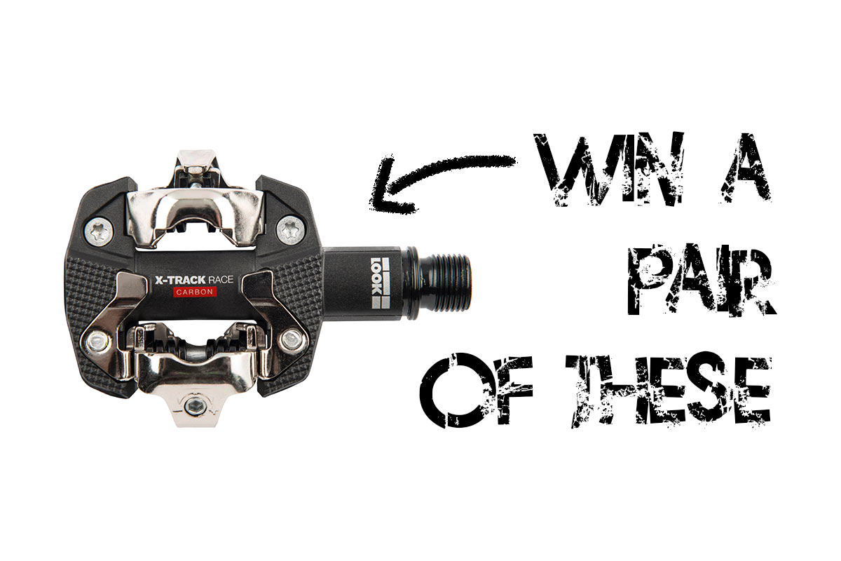LAST CHANCE! Win a pair of $130 LOOK X-Track Race Carbon Pedals! - Bikerumor