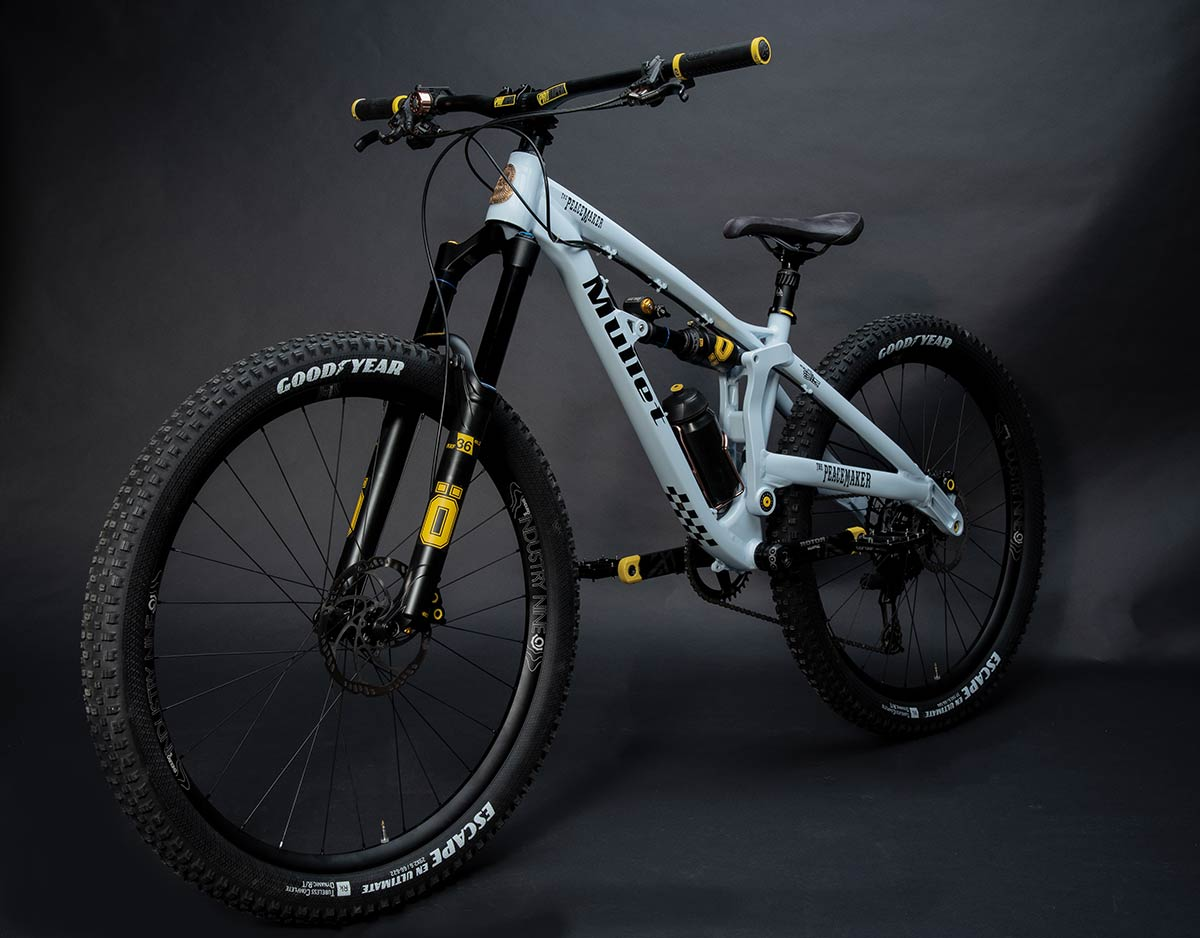 mullet peacemaker mixed wheel size full suspension 150mm travel mtb