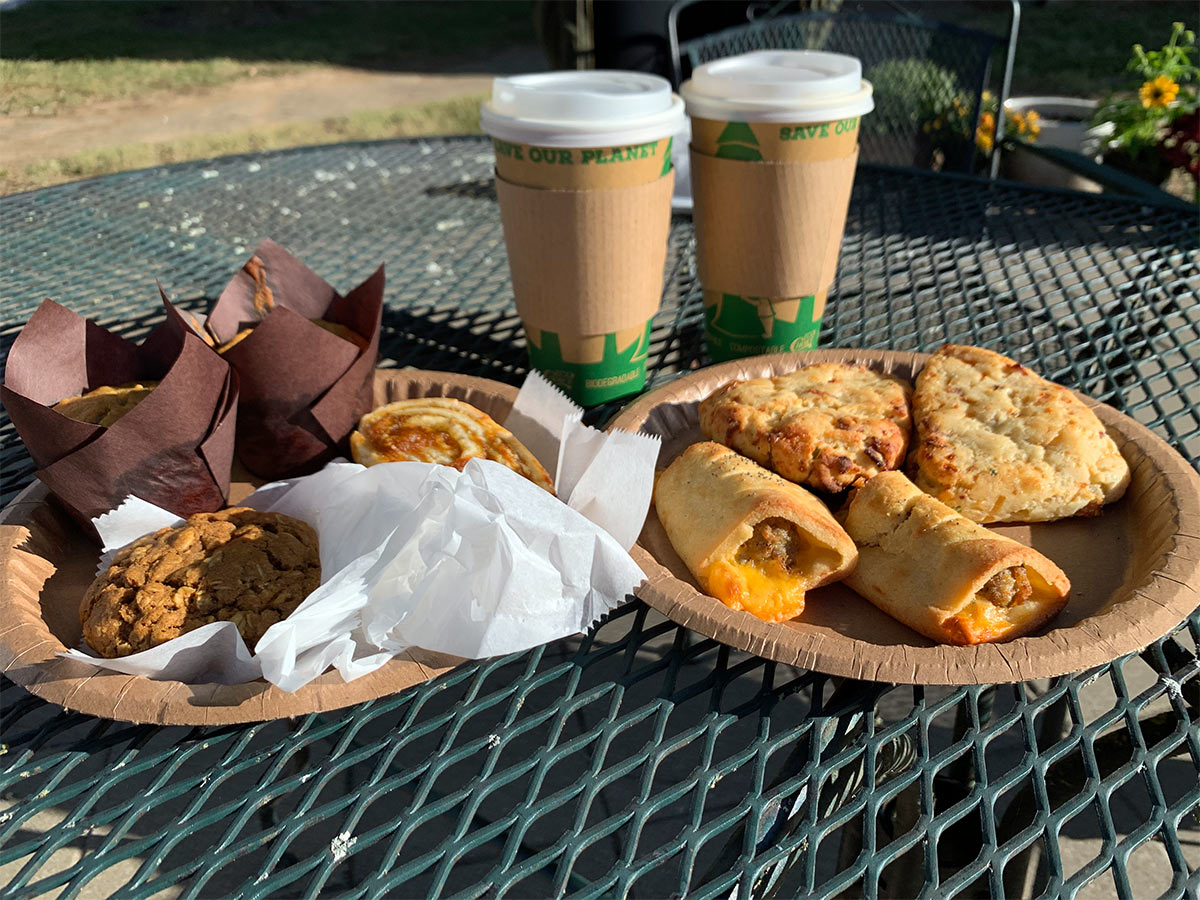 gluten free pastries and snacks from Olly Makes Bakery in bentonville arkansas