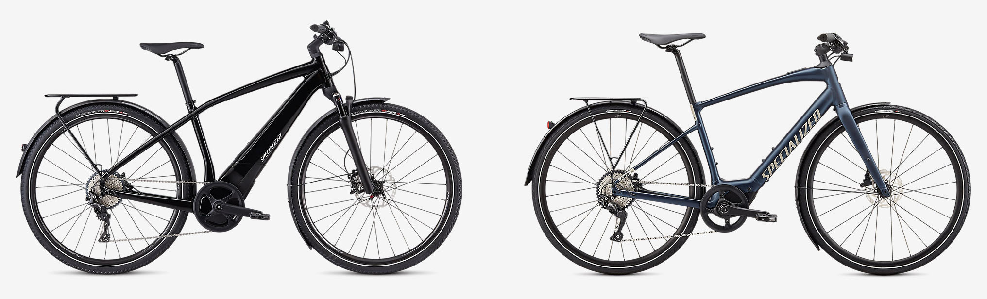 specialized turbo vado versus vado sl commuter e-bike comparison