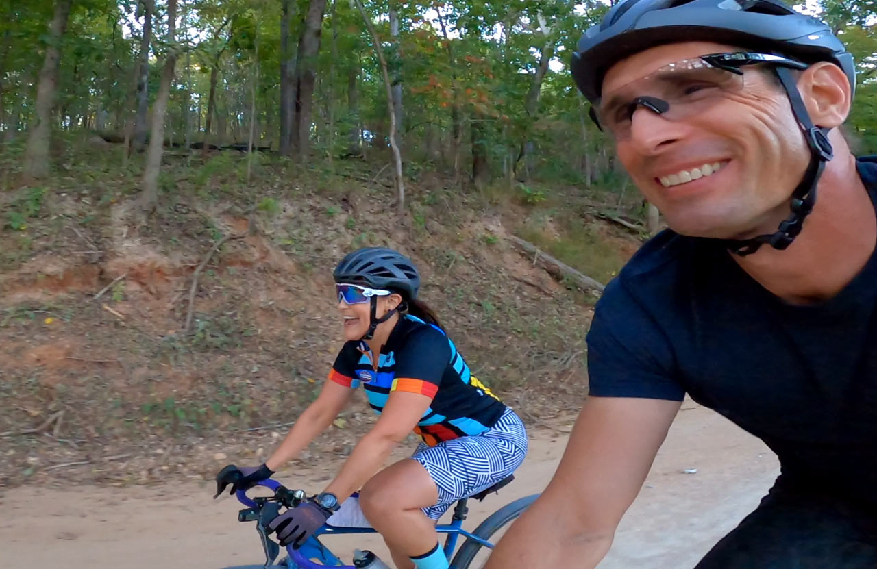 things to do in bentonville arkansas include gravel cycling