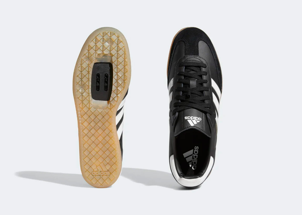 Adidas kicks it classic casual with clipless Velosamba Cycling Shoes