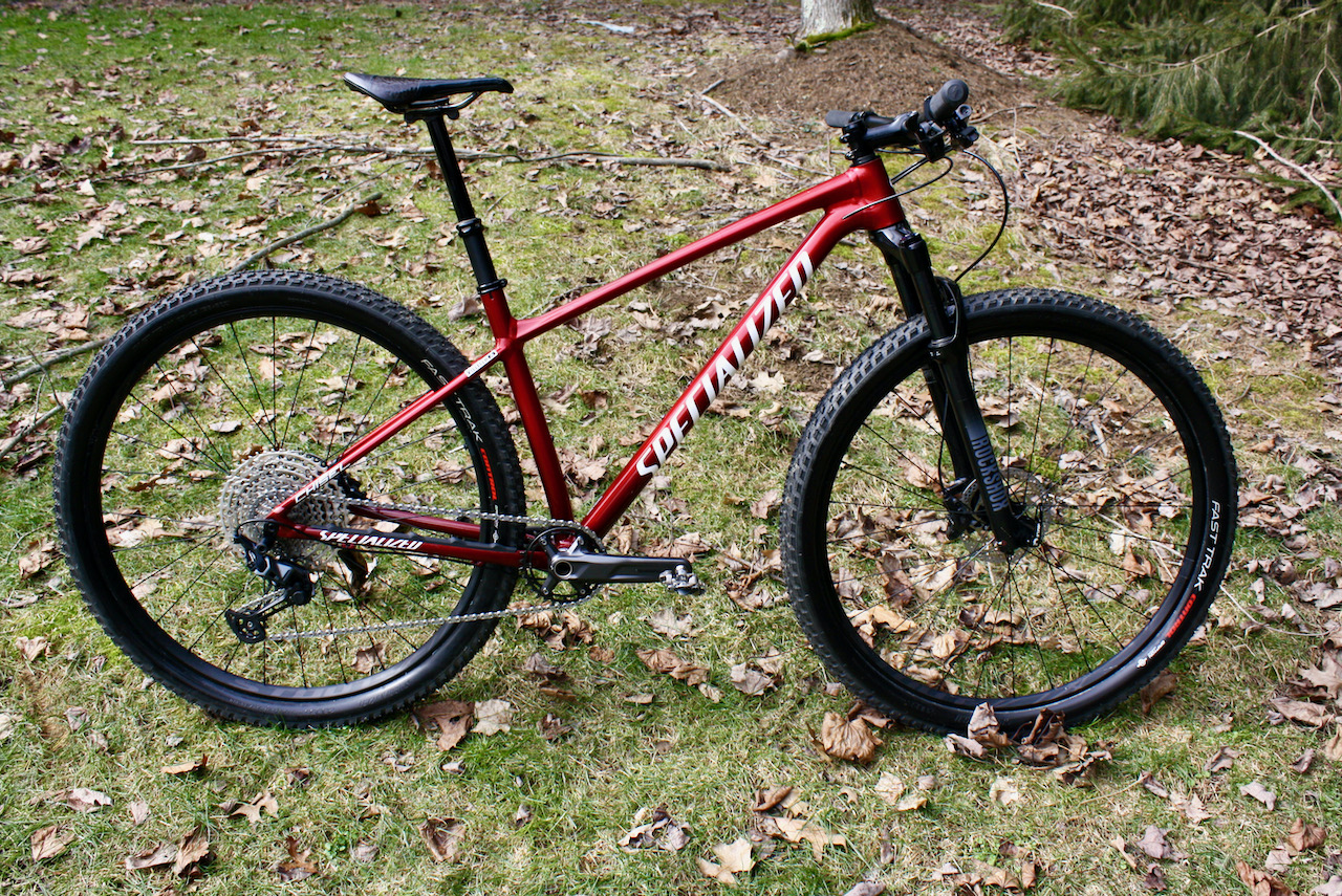 Specialized Chisel XC Bike Review Side