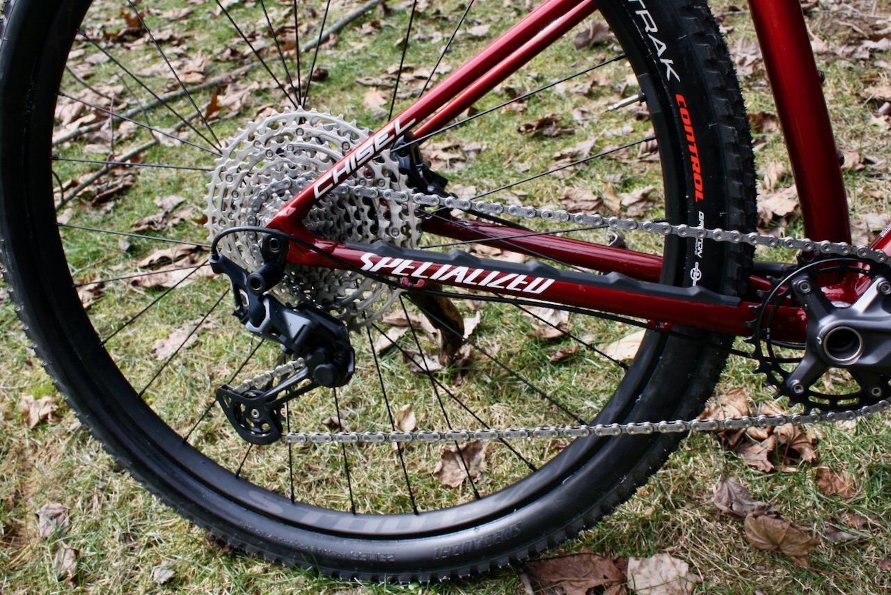 Specialized Chisel XC Bike Review Shimano shifting